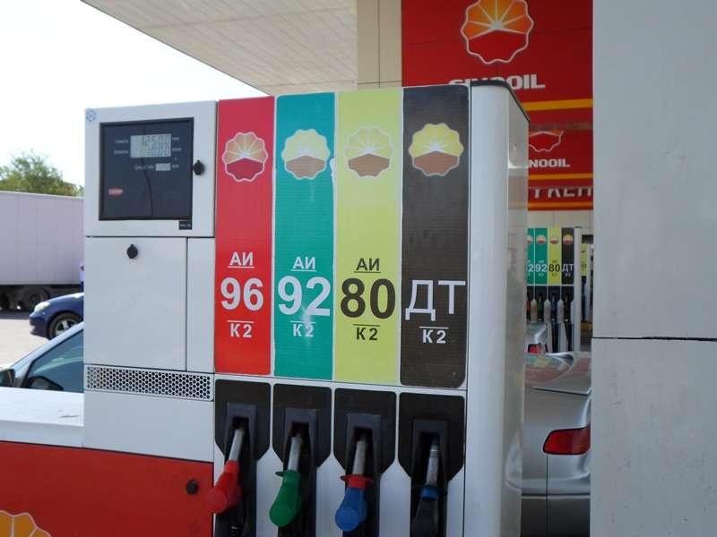 Реализация на АЗС топлива классов К2 и К3 с 1 января 2018 года запрещена