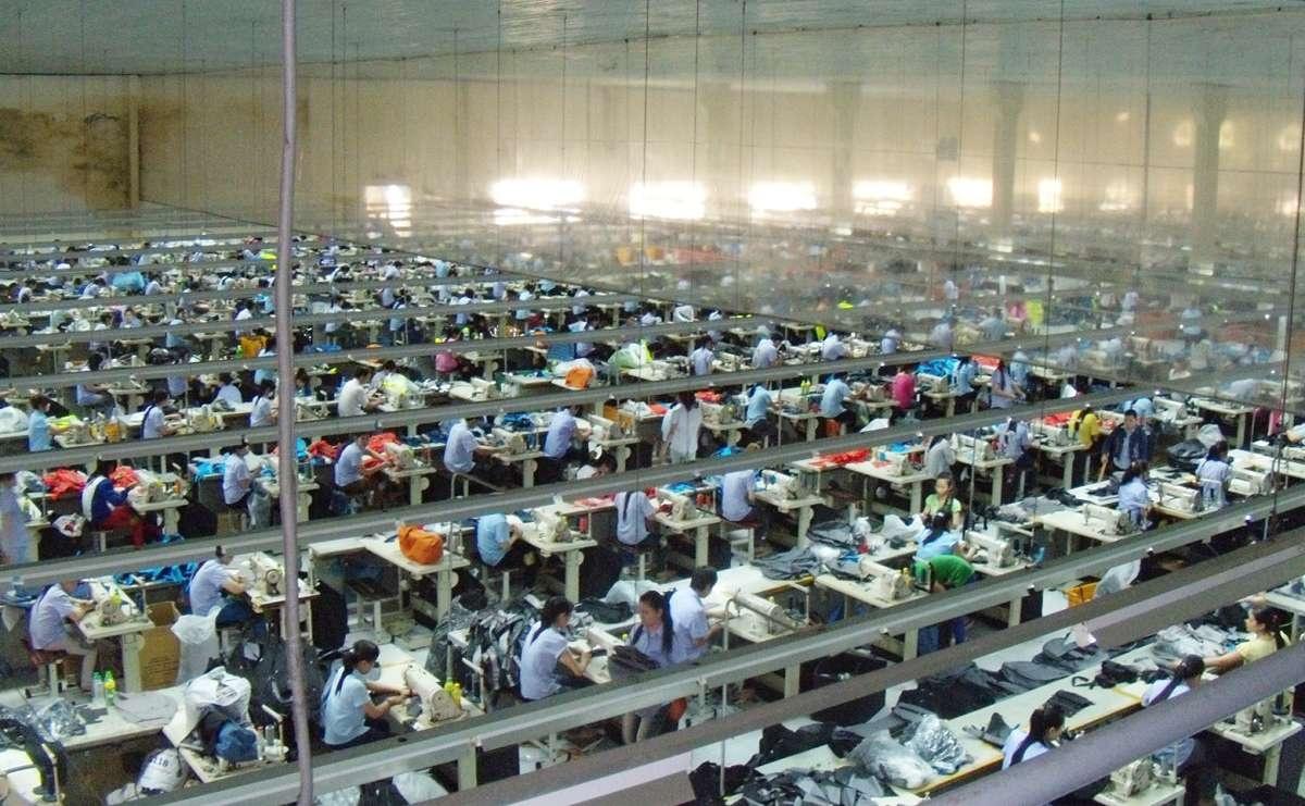 Швейные производства во Вьетнаме