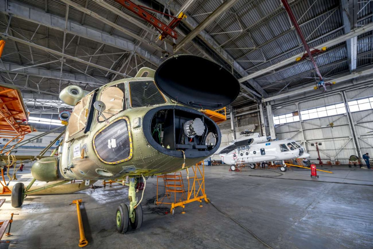 405-й завод обслуживает и военные и гражданские машины