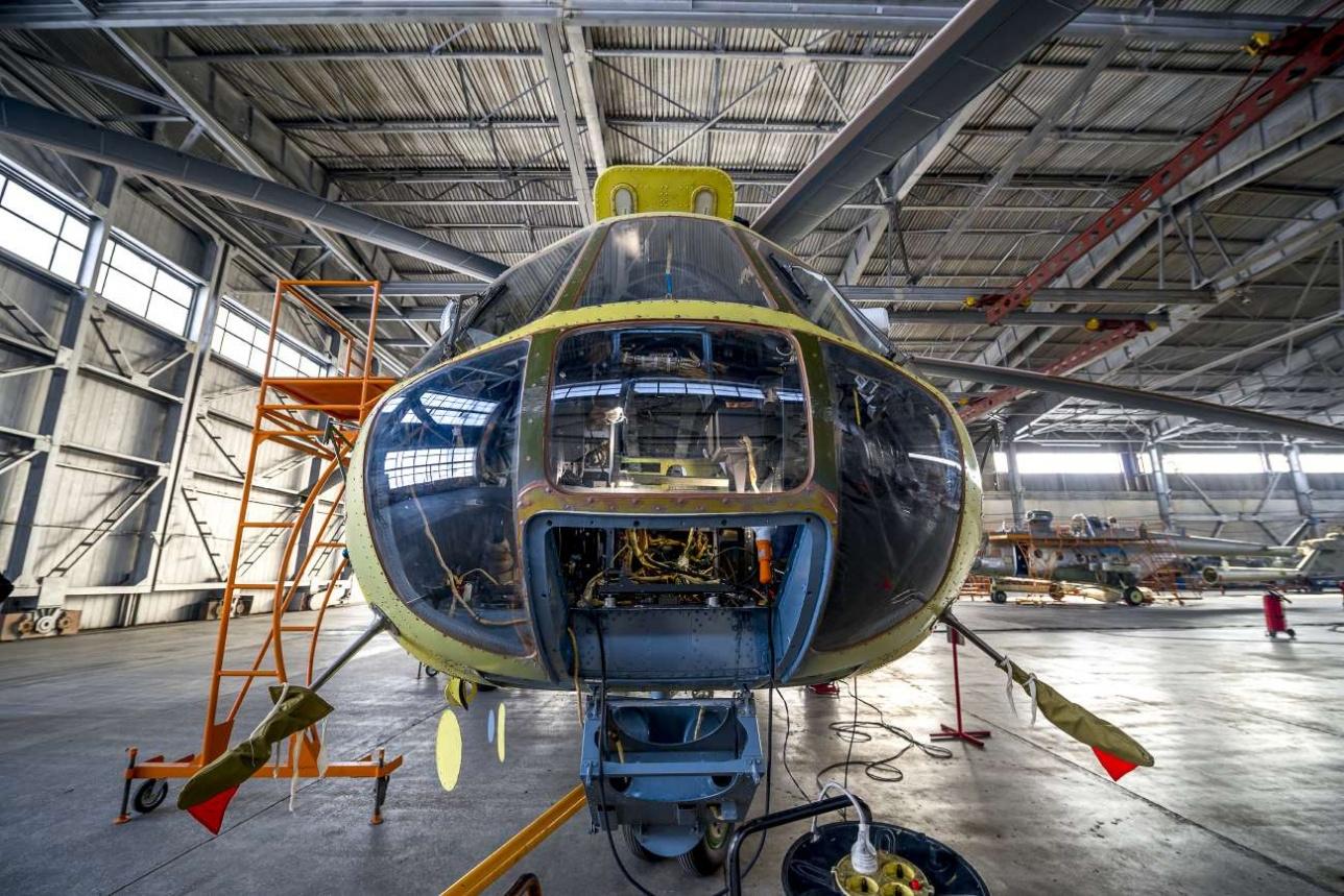 В год 405-й завод производит капитальный ремонт 7-8 машин