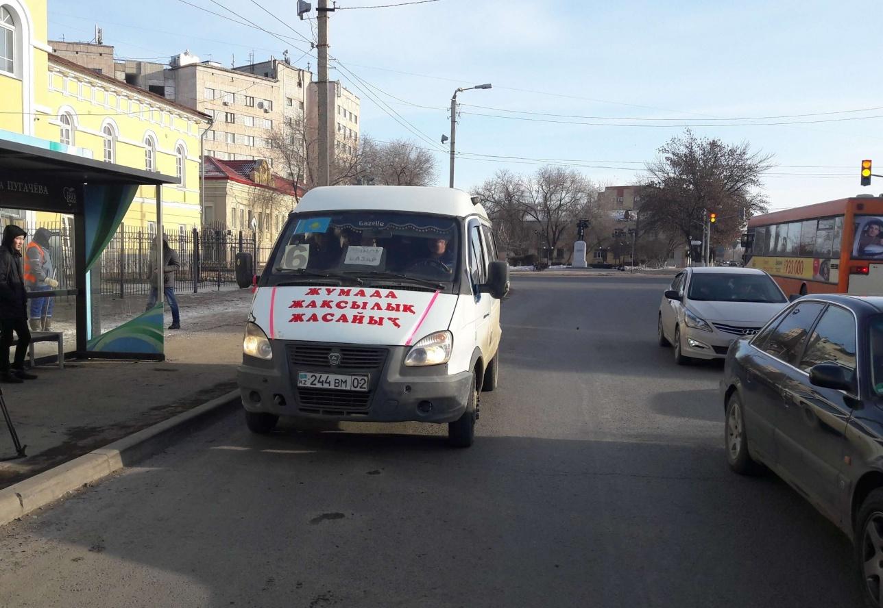 Маршрутное такси возит уральцев по пятницам бесплатно
