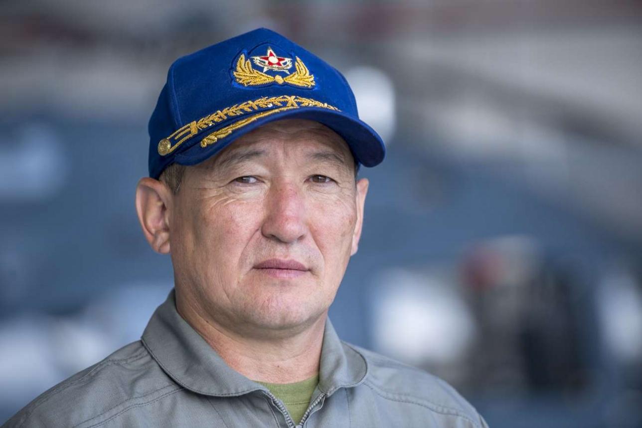 Даурен Косанов, командующий военно-воздушными силами СВО ВС РК, генерал-майор