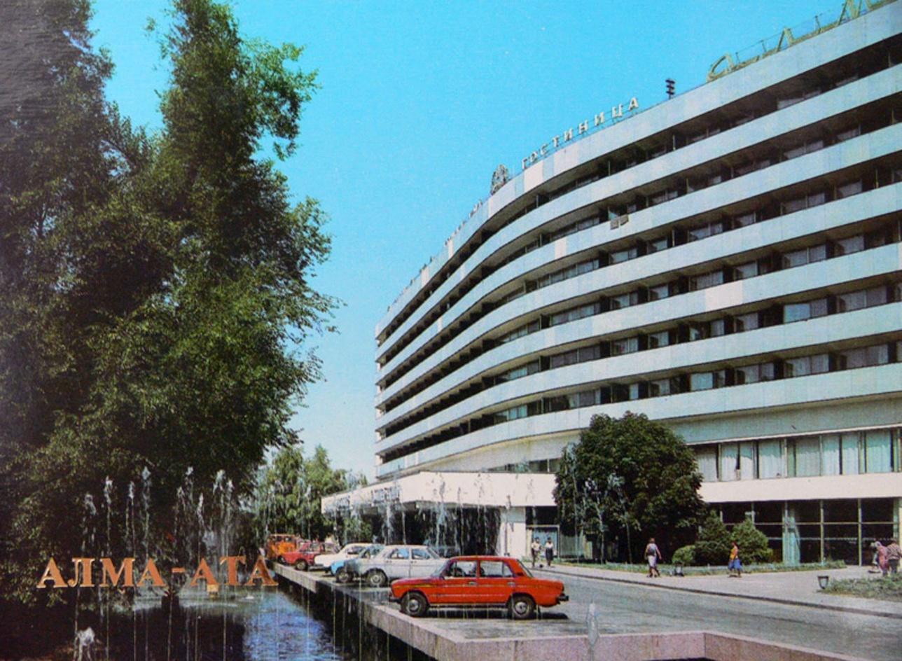 Открытка 1984-го года. Авто фото В. Полякова