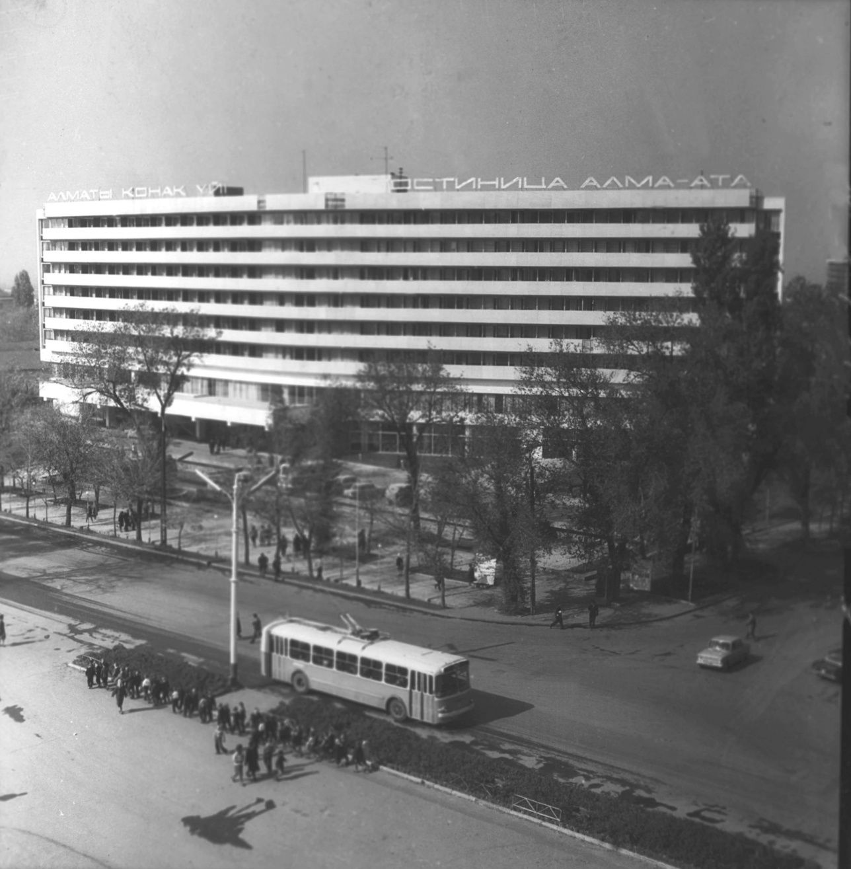Вид на гостиницу сверху. Из фонда архива ЦГА КФДЗ