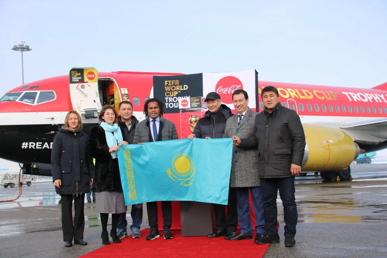 Официальную делегацию Fifa возглавил Кристиан Карамбе