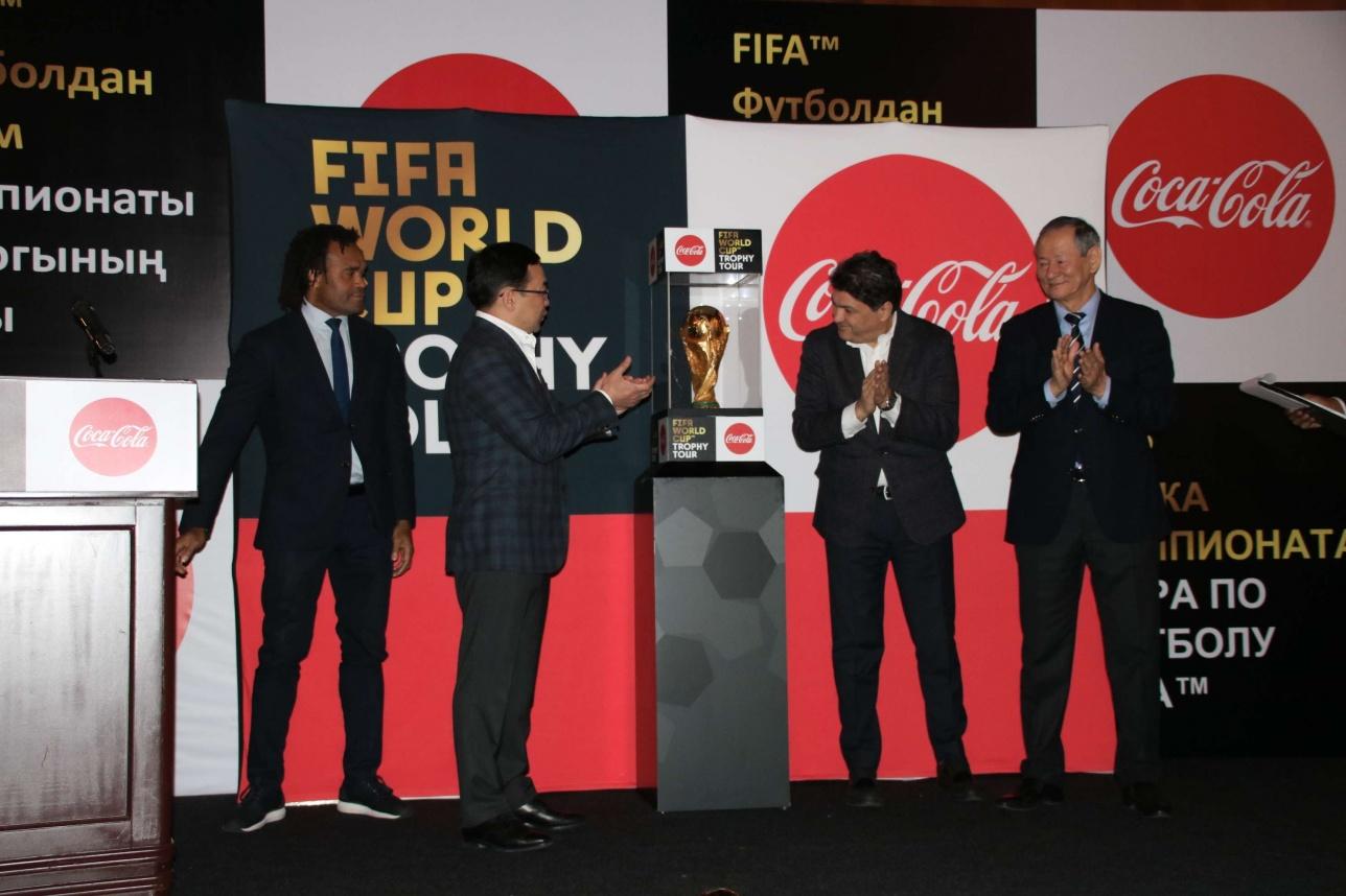 Кубок прибыл в Казахстан из Пакистана