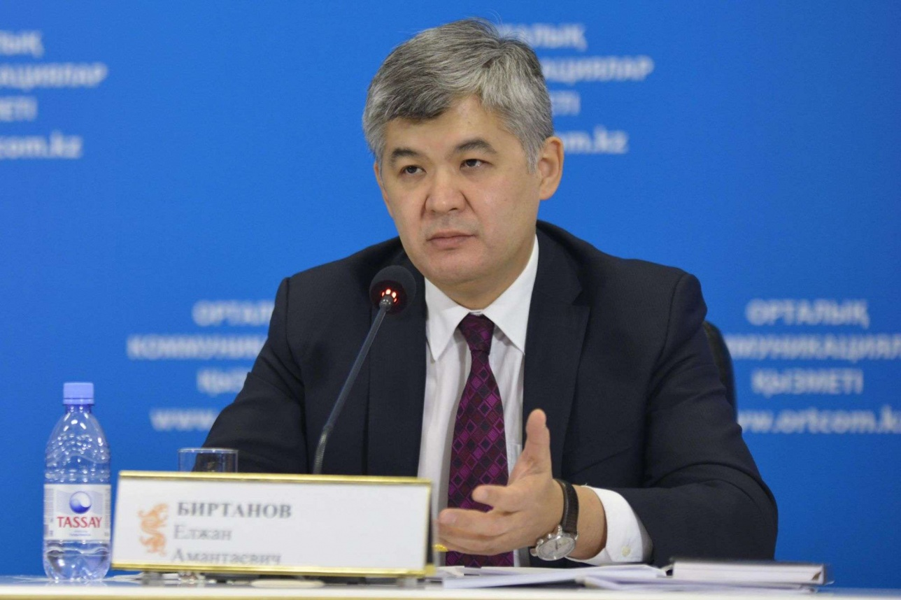 Елжан Біртанов денсаулық сақтау министрі