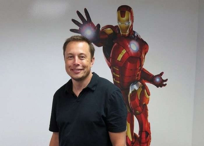 Илон Маск не скрывает, что хотел бы получить технологии Тони Старка