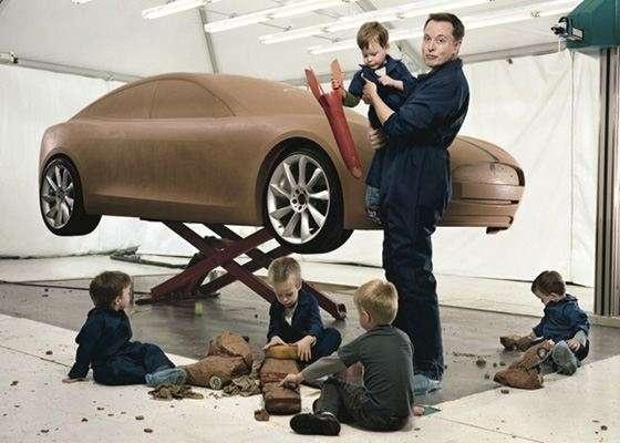 Илон Маск с детства мечтал о большом количество детей