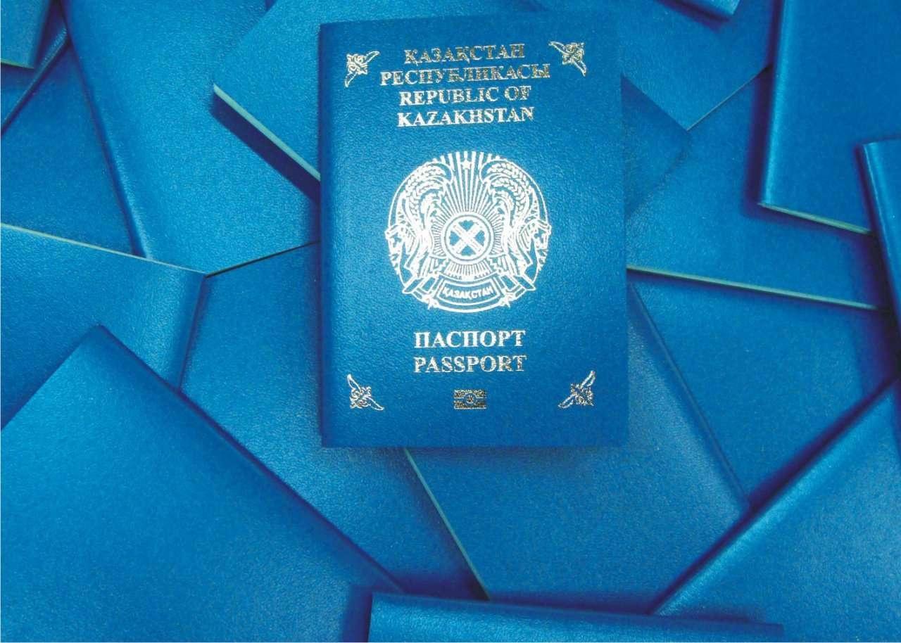На биометрических паспортах есть специальный значок внизу