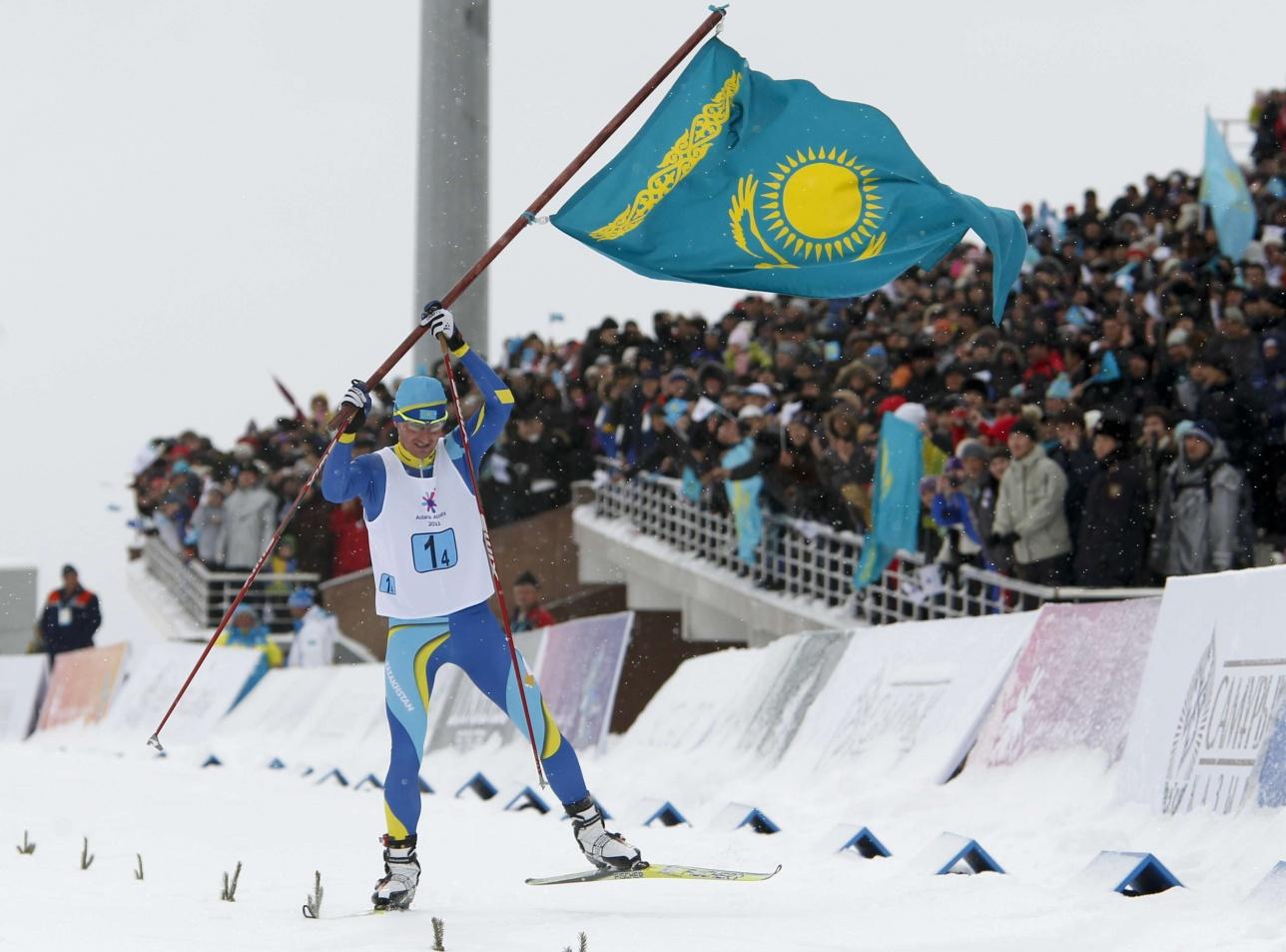 Участник ванкуверской и сочинской Олимпиад, победитель Азиады 2011 года Евгений Величко