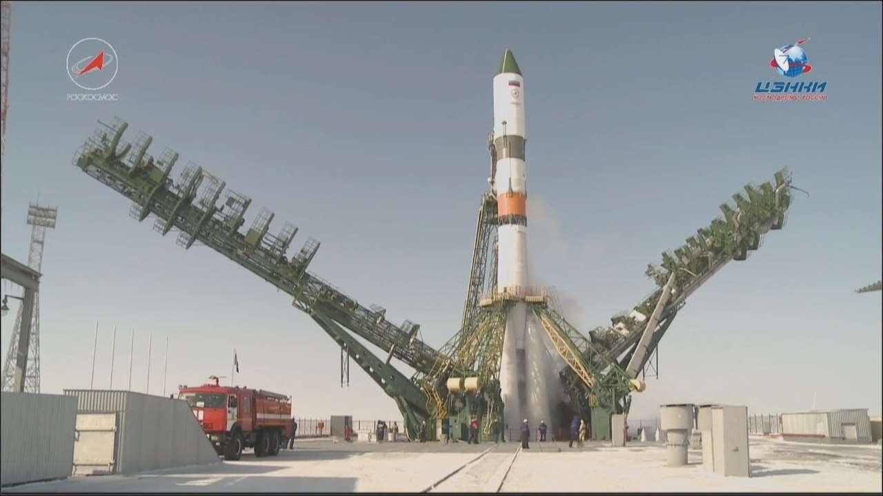 Пуск ракеты с Байконура отменён