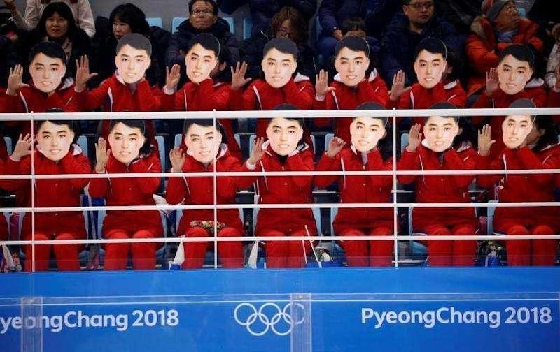 Болельщицы из КНДР