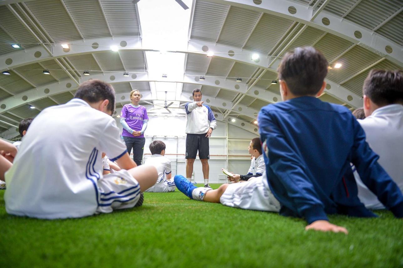 Тренировка в лагере