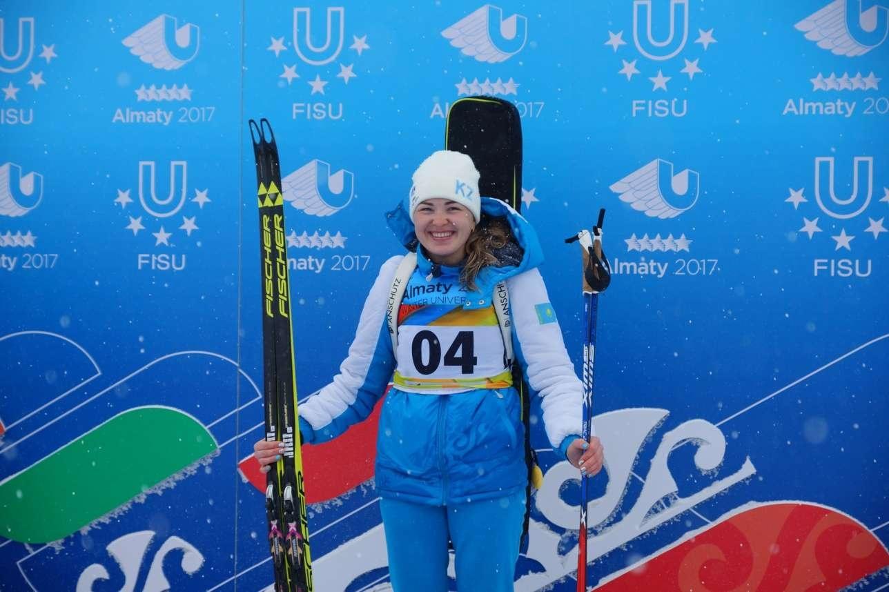 Чемпионка Универсиады 2017 года Алина Райкова