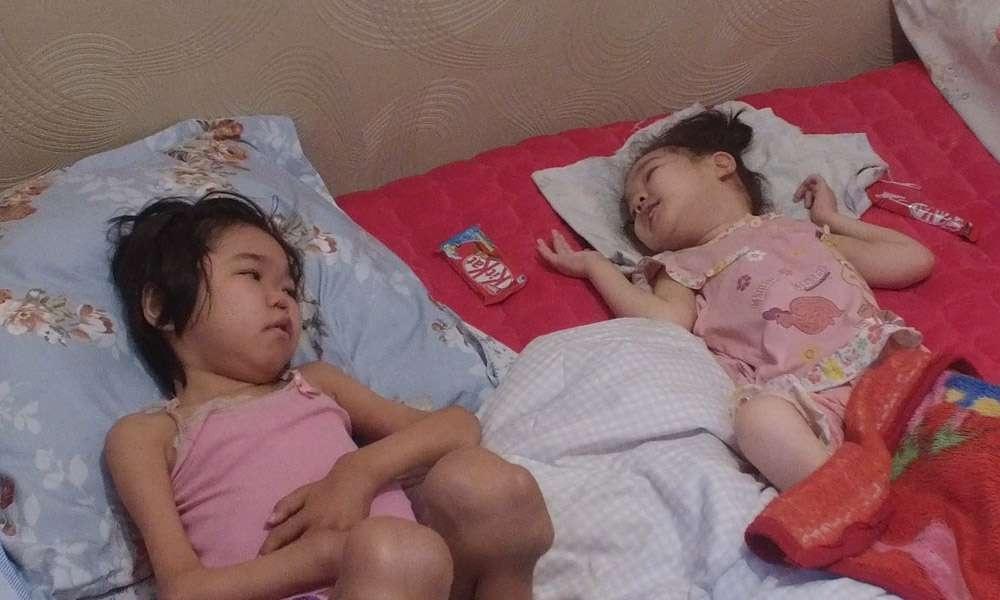 В семье Абугали двое детей-инвалидов