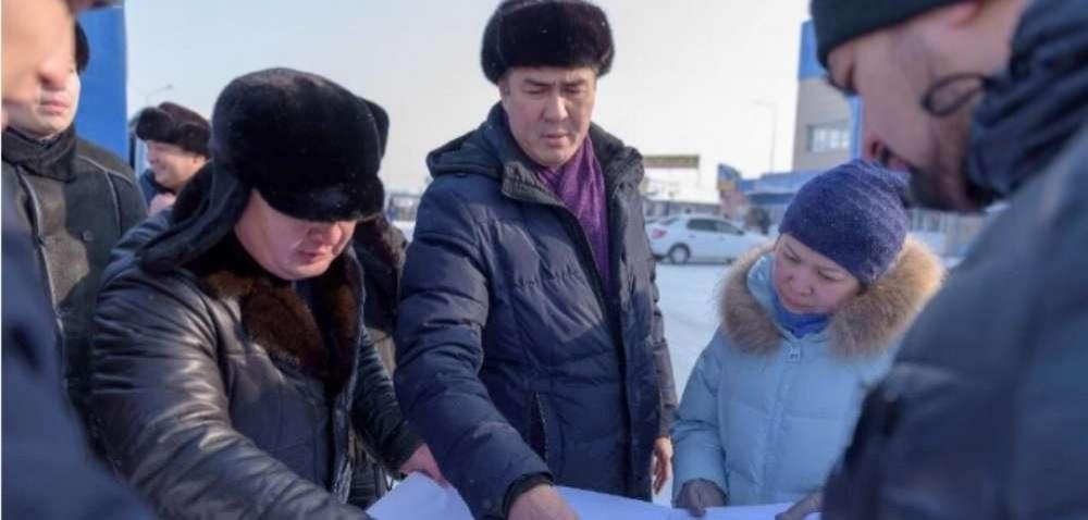 Асет Исекешев даёт поручения руководителям управлений акимата