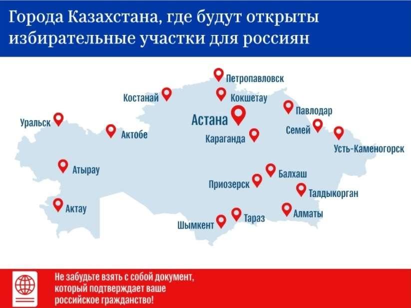 Инфографика с сайта sputniknews.kz по данным МИД РФ