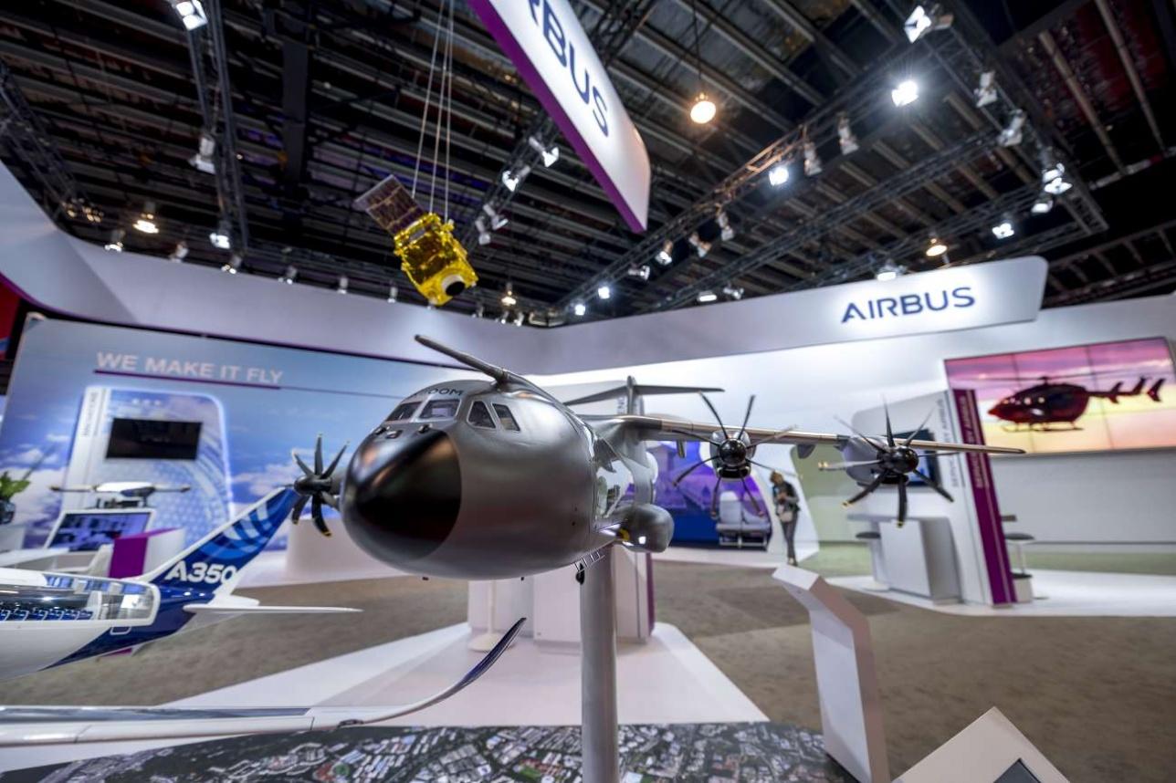 Стенд корпорации Airbus Military