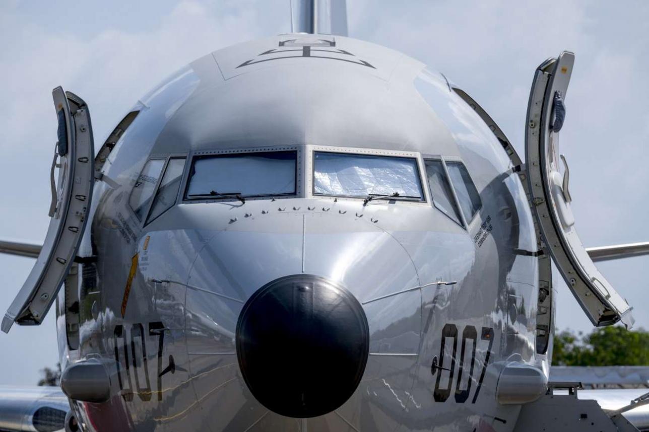 Патрульный противолодочный самолёт Boeing P-8 Poseidon ВВС США