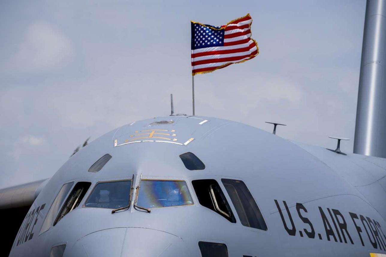 Boeing C-17 Globemaster III военно-воздушных сил США