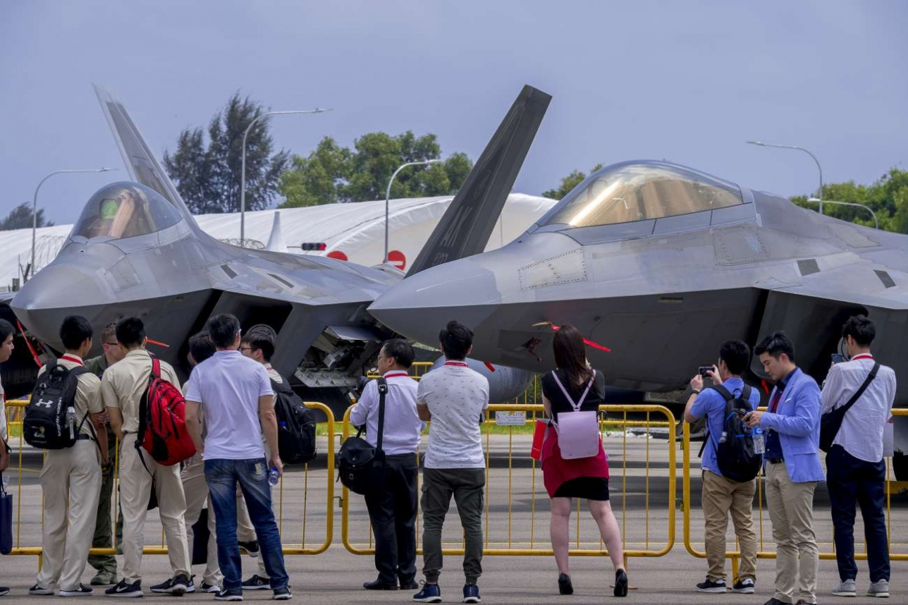 Американская площадка вызвала повышенный интерес у посетителей Singapore Airshow -2018