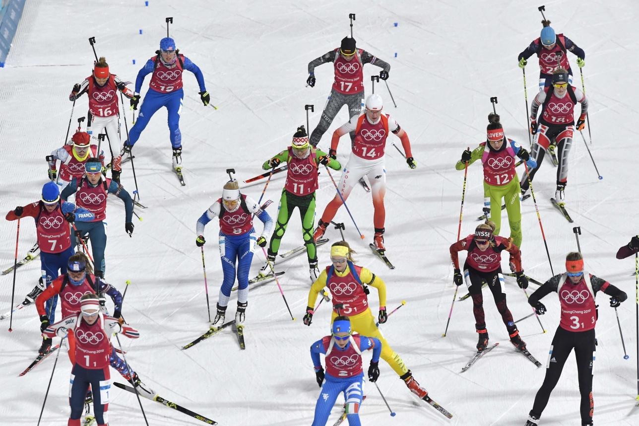 Смешанная эстафета на Олимпиаде