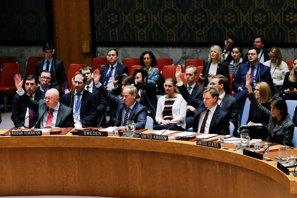 Члены Совета безопасности ООН проголосовали за установление режима перемирия