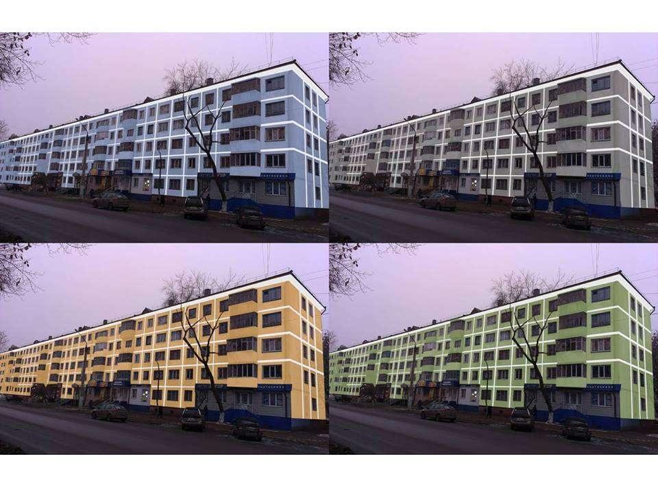 Жители Петропавловска с соцсетях обсуждают в какие цвета перекрасить фасады зданий