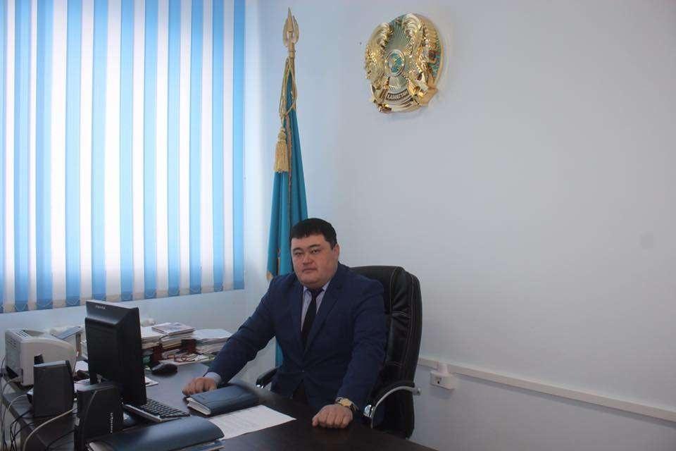 Экс-аким Коргалжынского сельского округа Акмолинской области Жанат Омаров