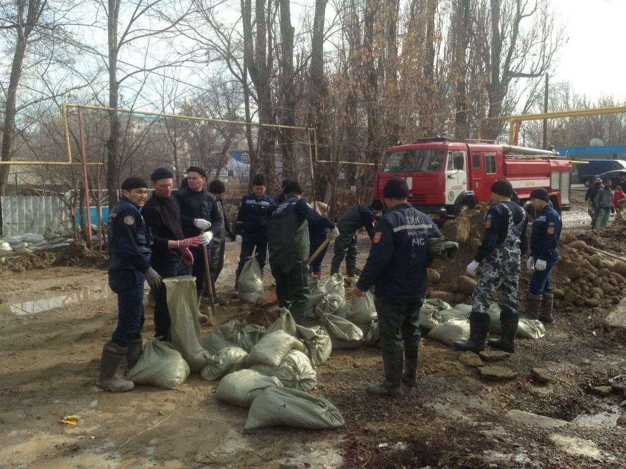 Подтопление в Алматинской области