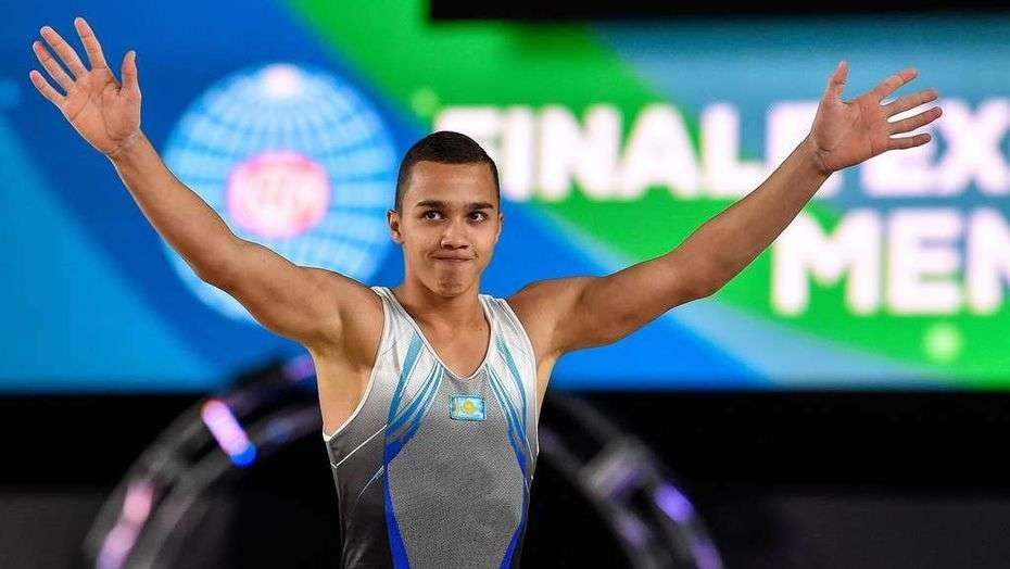 Казахстанский гимнаст Милад Карими