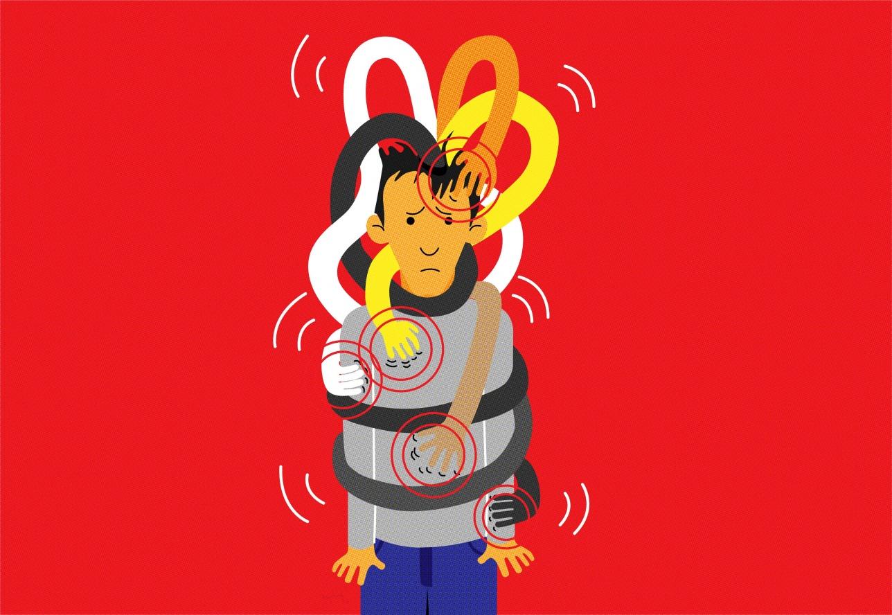 Частые стрессы могут стать причиной хронической головной боли