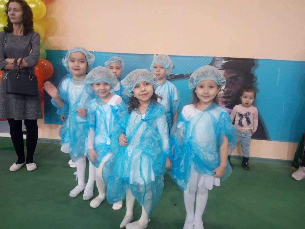 Воспитанники школы тенниса подготовили праздничный концерт