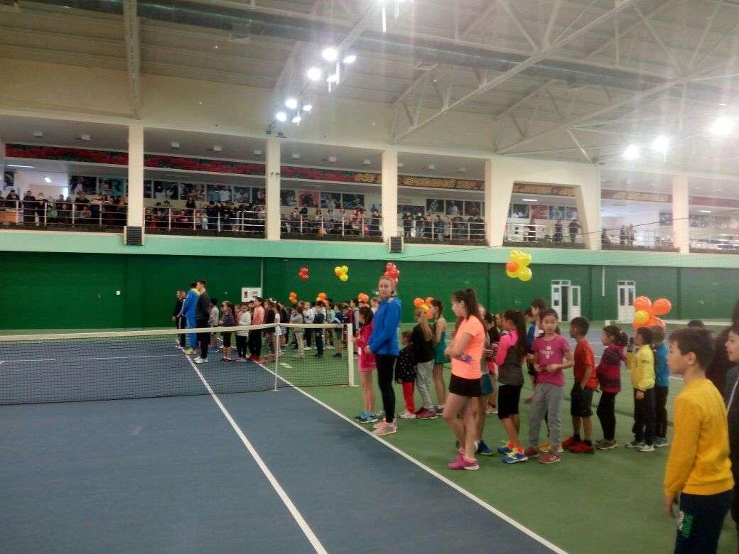 В Актобе откроют вторую школу тенниса
