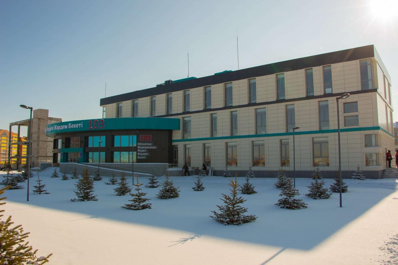 Новое здание центральной станции скорой помощи