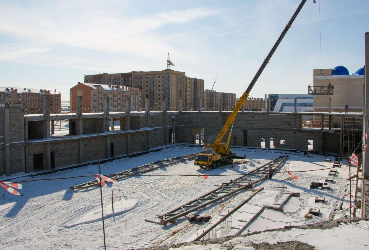 Ледовую арену планируют сдать к концу 2018 года