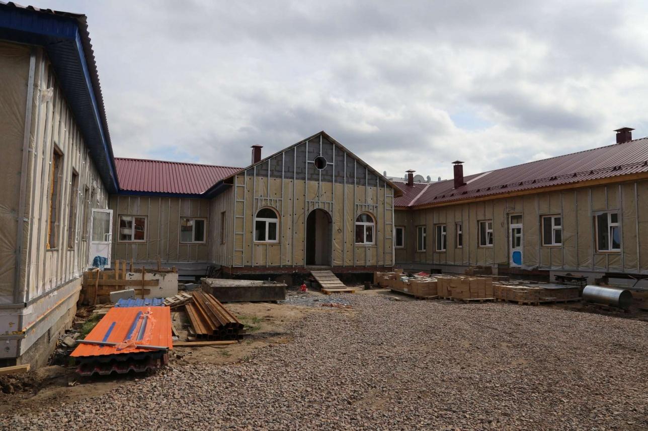 Строительство детского сада в Петропавловске