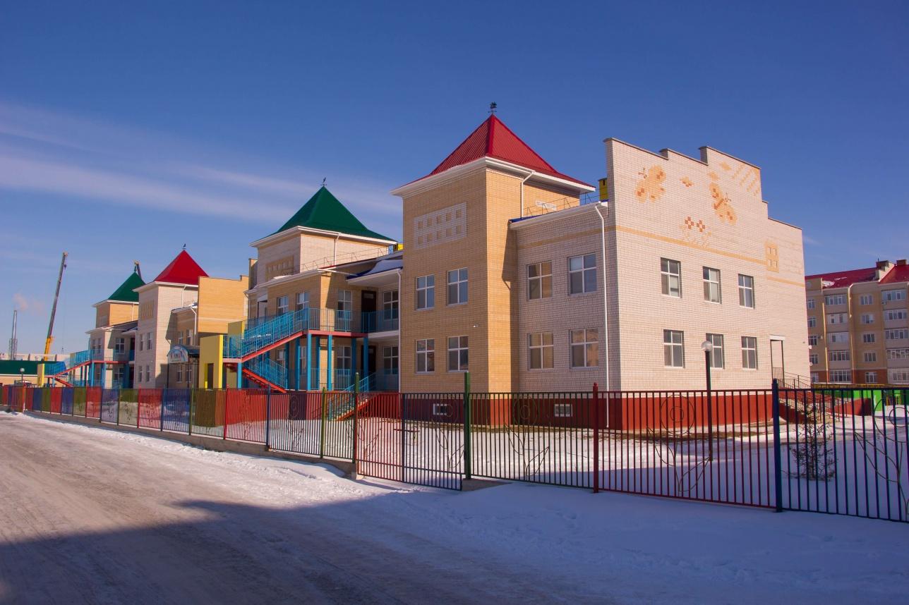Специализированный детский сад для особенных детей построен по проекту ГЧП