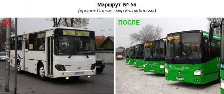 За два года в Алматы закупили 500 новых автобусов