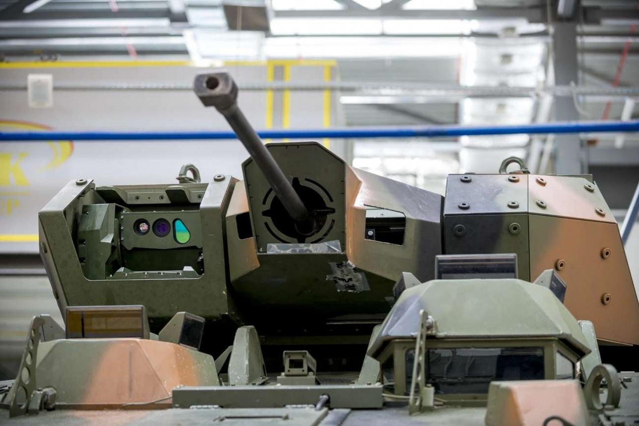 """Новый боевой модуль для бронетранспортера """"Барыс"""", разработанный компанией """"Казахстан Аселсан Инжиниринг"""""""