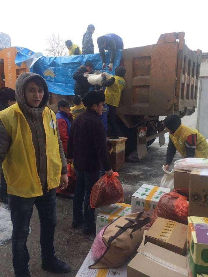 Оказать помощь пострадавшим решили многие казахстанцы