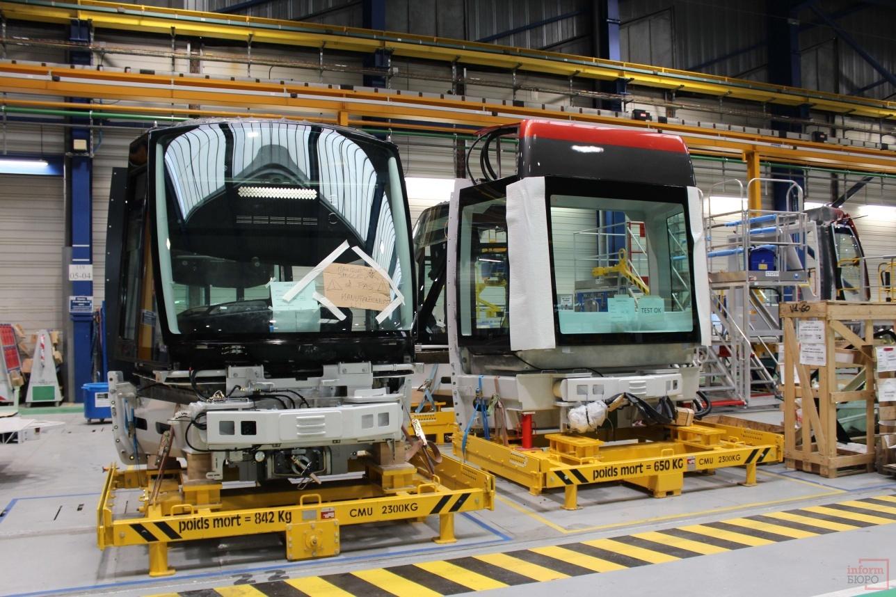 Строительство вагонов на заводе Alstom в Ла-Рошель