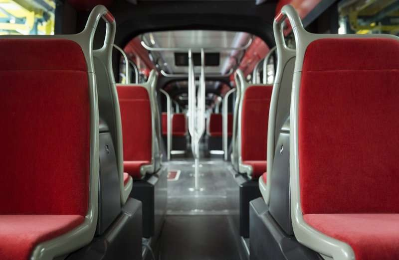 Салон трамвая Citadis X05
