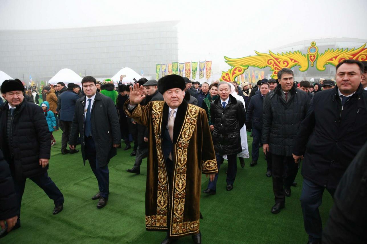 Назарбаев в этноауле