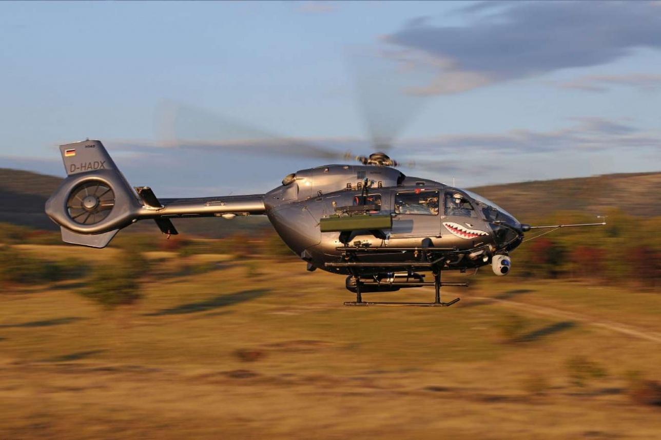 Н 145М ВВС Германии. Фото Airbus Helicopters