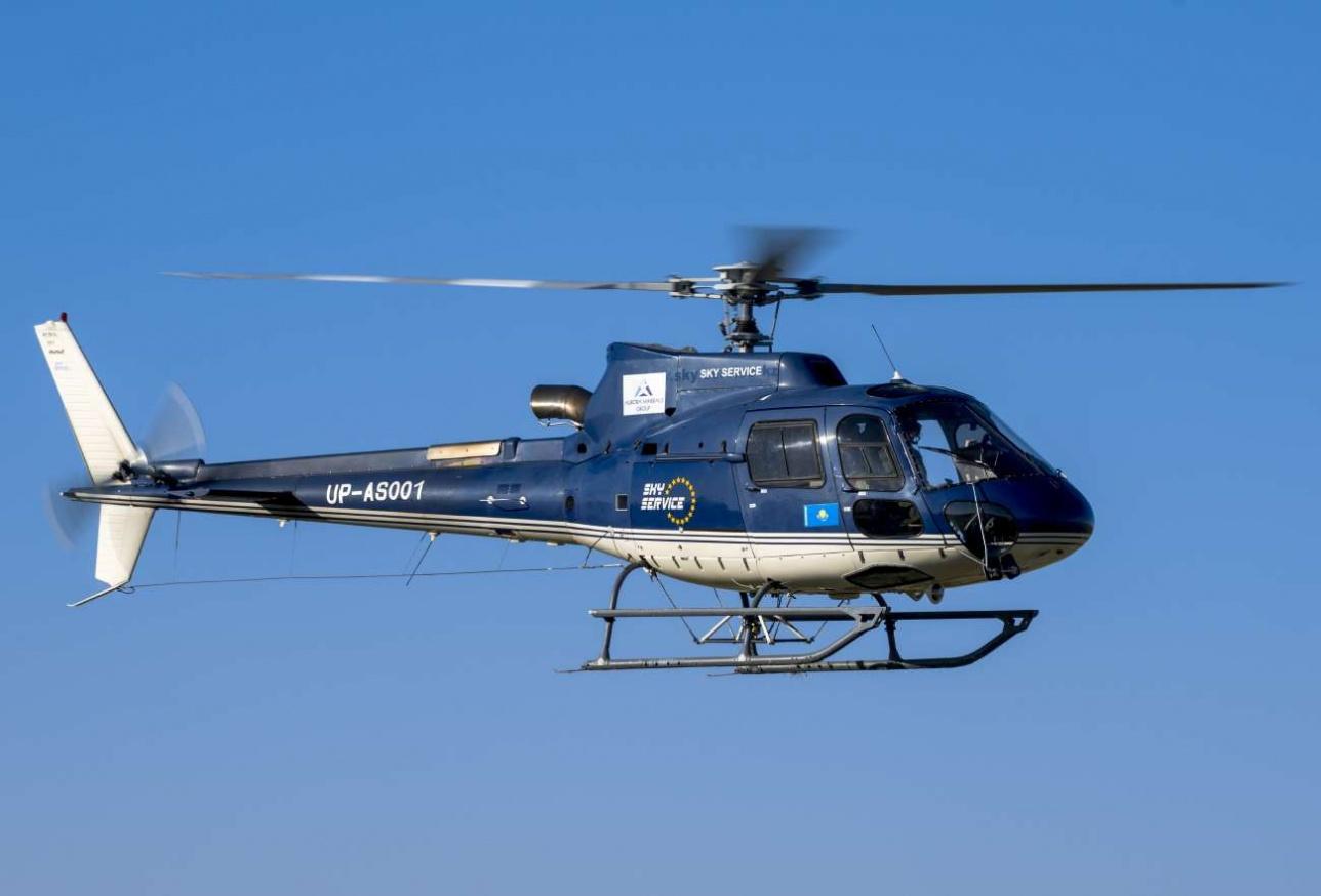 H 125 казахстанской авиакомпании Sky Service
