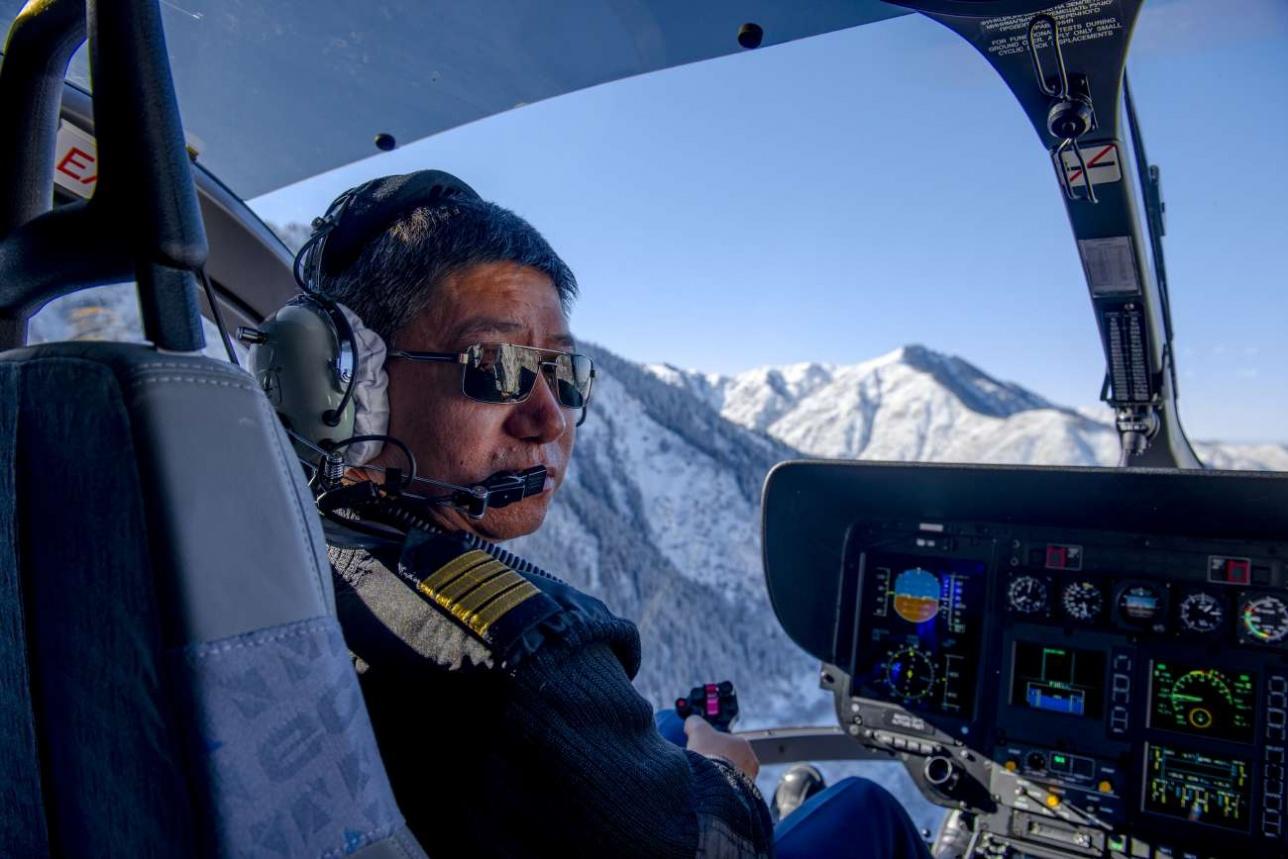 На борту EC 145 Казавиаспаса