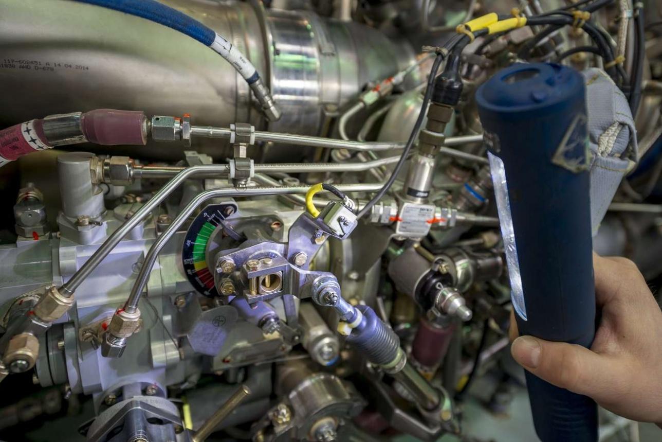 Двигатель EC 145