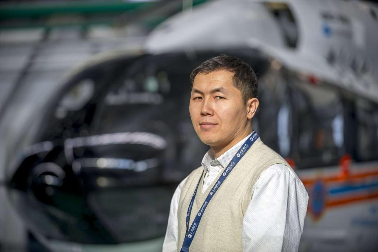 Мадьяр Каражанов, руководитель учебного центра Eurocopter Kazakhstan Engineering